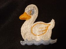 FLOATING DUCK EMBROIDERY APPLIQUE PATCH EMBLEM LOT (42 DOZEN)