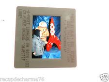 Tintin diapositive paris exposition 04121990 la tintinmania  fusee 1.33 cm