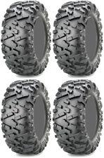 Four 4 Maxxis Bighorn 2.0 ATV Tires Set 2 Front 27x9-14 & 2 Rear 27x11-14