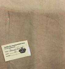 R & R Linen American Chestnut hand dyed 36 count Edinburgh Zweigart cross stitch