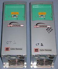 LOT of (2) Cutler Hammer SV9000 AF Drives SV9F15AC-2M0B00 1.5HP 208-240V