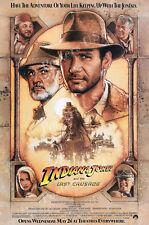 Posters Usa - Indiana Jones Last Crusade Movie Poster Glossy Finish - Mov063