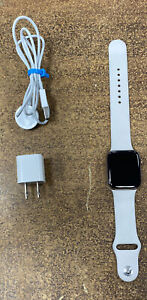 Apple Watch Series 5 44mm Stainless Steel Gold W/ Sport Band! WiFi+Cellular