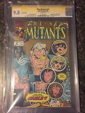 "NEW MUTANTS #87 2ND PRINT ""GOLD EDITION"" CGC SS 9.8 WHITE PAGES 1ST CABLE"
