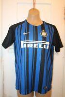 NIKE Inter Milan Soccer Football Home Jersey Youth XL Custom #17 Lea 2017