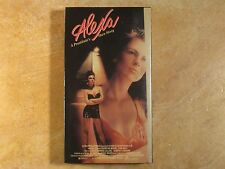 ALEXA A PROSTITUE'S OWN STORY CHRISTINE MOORE VHS 1ST EDITION 1989 ACADEMY