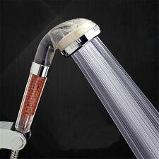 High Pressure Water Saving Filter Bathroom Hand Powerful Rain Shower Head Nice