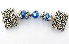 Women's Powerful Magnetic Hematite Tibet Bracelet Anklet 2 Row 8 Color Choices
