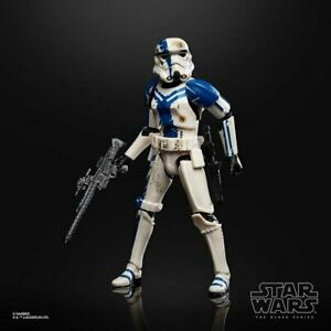 6 Inch Scale Stormtrooper Commander Force Unleashed Black Series Star Wars LOOSE