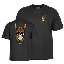 Powell Peralta T-Shirt Andy Anderson Skull (black)
