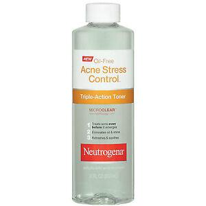Neutrogena Oil-Free Acne Stress Control Triple-Action Toner-8 oz (Pack Of 2)