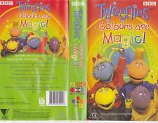 TWEENIES COLOURS ARE MAGIC  VHS PAL VIDEO A RARE FIND