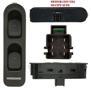 NEW OEM Saturn L LS LW Series Front Passenger Power Window Switch Black 90363750