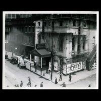 DUMONT'S MINSTRELS THEATER PHILADELPHIA c.1920 Antique gelatin silver photograph