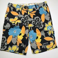 LoudMouth Golf Shorts Flower Floral Print Hawaiian Mens Size 38