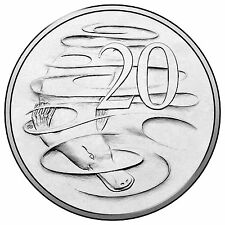 2017 Australia, Choice 20c TWENTY CENT COIN from Royal Australian Mint Roll