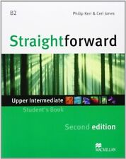 Straightforward Second Edition Upper Intermediate Level Student's Book, New Book