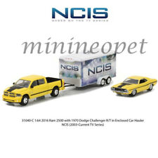 GREENLIGHT 31040 C NCIS TV SERIES 2015 DODGE RAM 1500 & 1970 CHALLENGER 1/64 SET