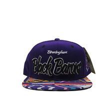 Birmingham Black Barons Negro League Baseball Snapback Hat Vintage Brim