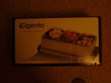 ELGENTO 3 TRAY BUFFET SERVER/HOT PLATE 200W Reduced!!
