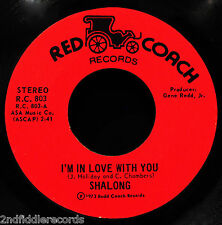 SHALONG-I'm In Love With You & Lady-Sweet Northern Soul 45-RED COACH #803