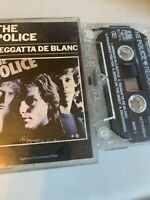 THE POLICE-REGGATTA DE BLANC   UK CASSETTE TAPE 1979 WALKING ON THE MOON STING