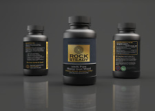 RockSteady Horny Goat Weed Gold Label -With Macca, Gensing, 40% Icariin