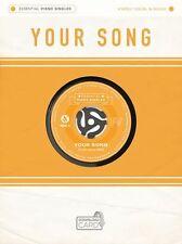 Piano esencial singles: Ellie Aragonés-Tu Canción. descarga de audio/De Una Hoja