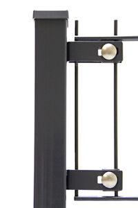 Befestigungsklammer L 70 Gittermattenhalter für Doppelstabmattenzaun