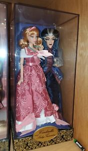 Disney Store Fairytale Designer Collection Cinderella & Lady Tremaine w/Box/Bag