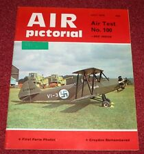 Air Pictorial 1975 July Malaya,Croydon,Puma,Viima
