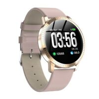Bluetooth Fashion Smart Watch Heart Rate Blood Pressure Monitor for iOS Android