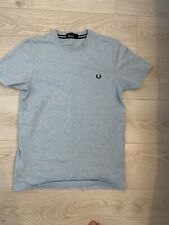 Fred Perry Tshirt, Mens Small, Light Blue, New