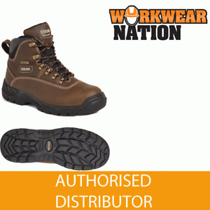 Sterling SS813SM Waterproof Leather Safety Work Boot Steel Toe NEW STYLE