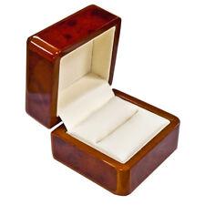 BELLISSIMO anello di legno di noce Premium BOX-una scatola di lusso per quel regalo speciale