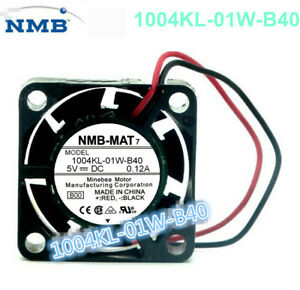 NMB-MAT 1004KL-01W-B40 2510 2.5 Cm 5V 0.12A Double Ball Cooling Fan