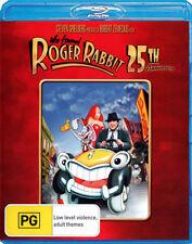 Who Framed Roger Rabbit? (25th Anniversary)  - BLU-RAY - NEW Region B