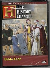 Modern Marvels Bible Tech DVD NEW Sealed A&E History Channel OOP Rare