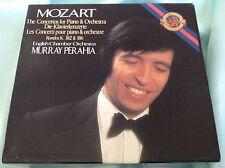 Rare Classical 4 CD Set : Mozart ~ Murray Perahia ~ Concertos for Piano & Orch.