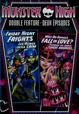 NEW DOUBLE FEATURE DVD // MONSTER HIGH // FRIDAY NIGHT FRIGHTS + WHY DO GOULS FA