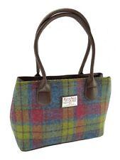 Ladies Authentic Harris Tweed Classic Handbag Buchanan Tartan LB1003 COL 46