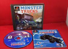 Monster Trucks Sony Playstation 1 RARE Game