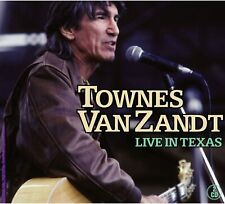 Townes Van Zandt Live In Texas 2-CD NEW SEALED 2007 Poncho And Lefty+