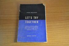 D. Magnarini Let's Try Together compendio di esercitazioni per l' Inglese