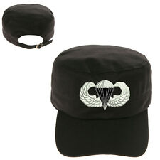 AIRBORNE LOGO MILITARY CADET ARMY CAP HAT HUNTER CASTRO
