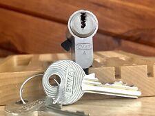 EVVA High Security Half Euro Lock w/ 2 Keys Locksport