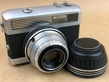 Werra 1 Vintage Camera w/ 50mm F/2.8 Tessar Lens & Lens Hood