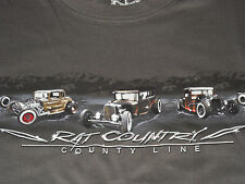Vintage T-Bucket Rat Rod T-Shirt Medium NEW w/Tags - Model A,T,1920's -1930's