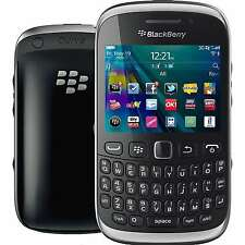 NEW Unlocked Blackberry Curve 9320 GSM 2G/3G/WIFI/GPS FM RADIO QWERTY Keys BLACK