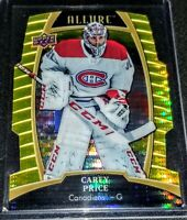 2019-20 Carey Price Upper Deck UD Allure SP Yellow Taxi #11 Montreal Canadiens